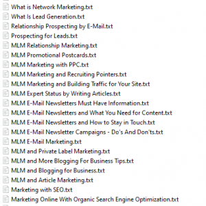 24 MLMPLRArticlesPack 300x300 - 24-MLM PLR Articles Pack